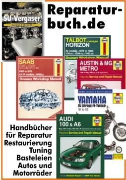 Triumph Herald Spitfire Reparaturbuch Reparaturanleitung Reparatur-Handbuch Buch